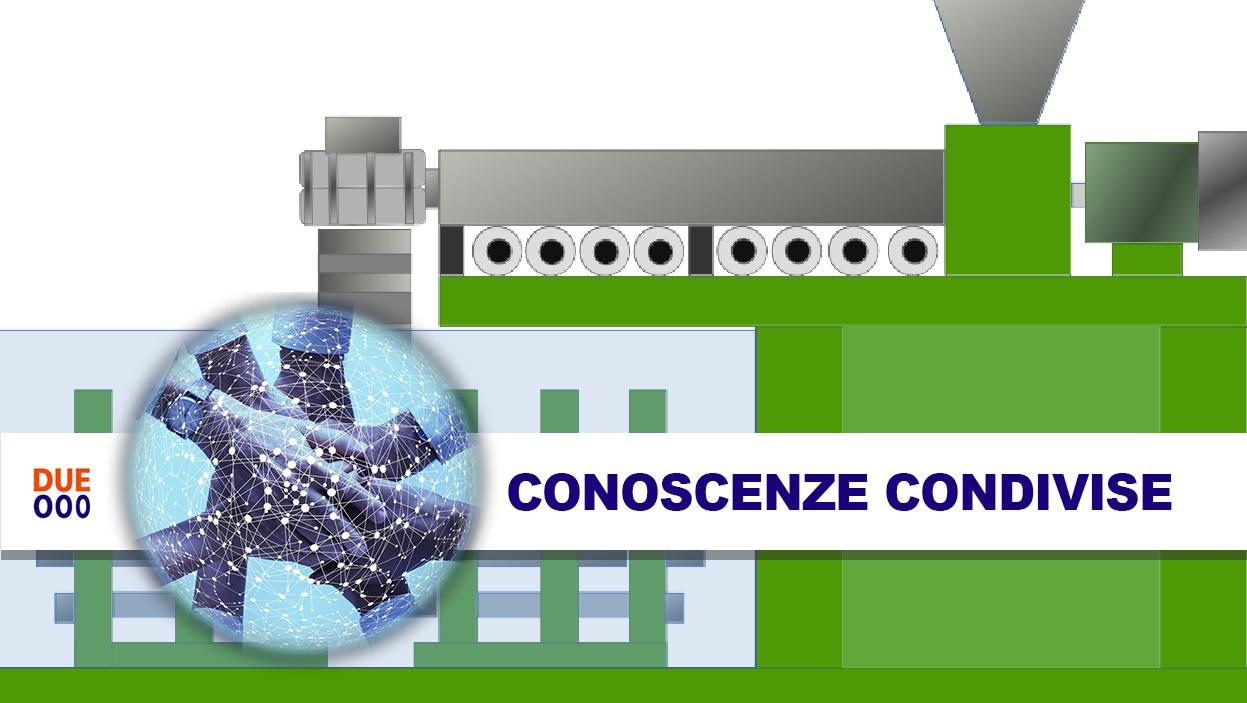 LE TECNOLOGIE DI TRASFORMAZIONE DELLE MATERIE PLASTICHE – 4: <br>ESTRUSIONE SOFFIAGGIO